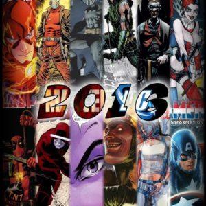 Календар в стилі коміксів