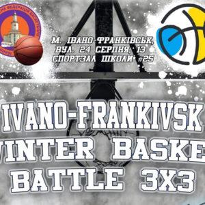 Афіша зимового чемпіонату зі стрітболу 3х3